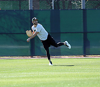 Dustin Fowler - Oakland Athletics 2018 spring training (Bill Mitchell)