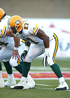 Singor Mobley Edmonton Eskimos 2003. Photo copyright Scott Grant.