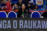 Coach Gail Parata of the Pulse,  ANZ Premiership Netball - Te Wānanga o Raukawa Pulse v Southern Steel at Te Rauparaha Arena, Porirua, New Zealand on Sunday 16 May 2021.<br /> Photo by Masanori Udagawa. <br /> www.photowellington.photoshelter.com