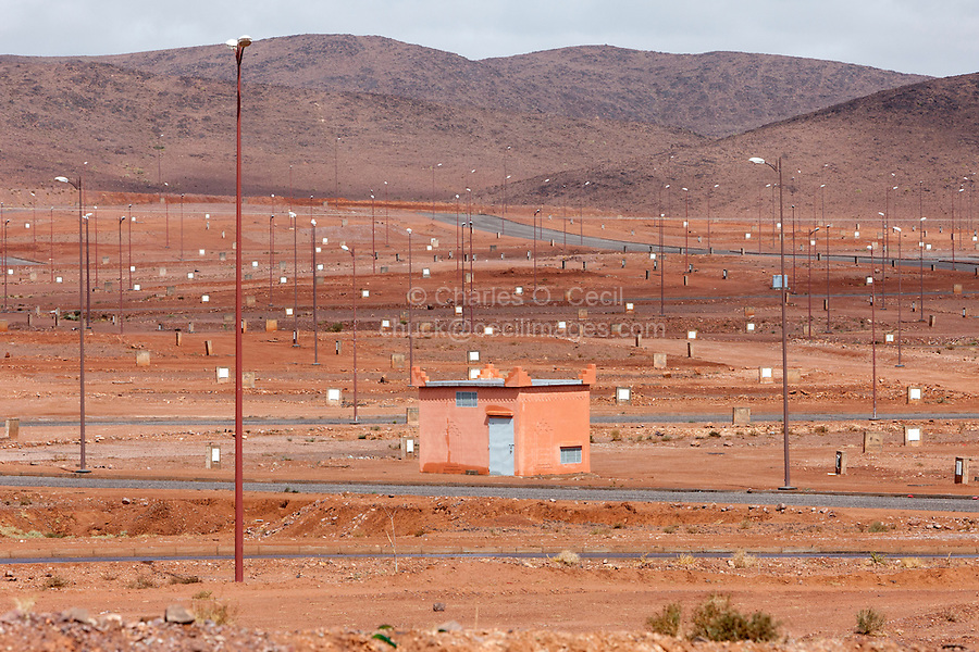 Ouarzazate, Morocco.  Planning for Future Urban Development.