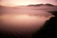 Mist over lake<br />