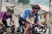 Tadej Pogačar (SVN/UAE-Emirates)<br /> <br /> Stage 5 from Castellalto to Castelfidardo (205km)<br /> <br /> 56th Tirreno-Adriatico 2021 (2.UWT) <br /> <br /> ©kramon