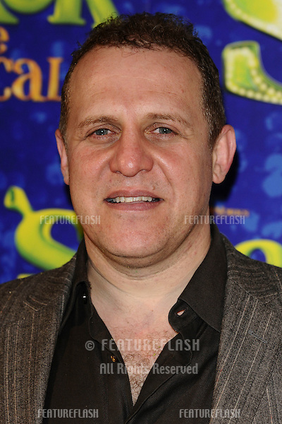 """Nigel Lindsay arrives for the 1st night party of """"Shrek The Musical"""" at Somerset House, London. 14/06/2011  Picture by: Steve Vas / Featureflash"""