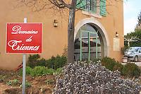 The winery Domaine de Triennes Nans-les-Pins Var Cote d'Azur France