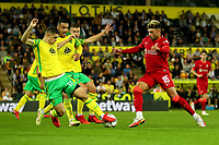 21st September 2021; Carrow Road, Norwich, England; EFL Cup Footballl Norwich City versus Liverpool; Alex Oxlade-Chamberlain of Liverpool runs at the Norwich defence