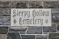 Sleepy Hollow Cemetery, Sleepy Hollow, New York, USA