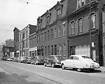 Pittsburgh PA:  View of Forbes Avenues and Magee Street in the uptown section of Pittsburgh near Duquesne University.  The assignment was for a developer trying to get some of the buildings condemned so he could get them at a good price for future development.