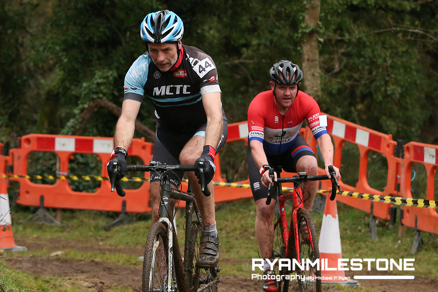 EVENT:<br /> Round 5 of the 2019 Munster CX League<br /> Drombane Cross<br /> Sunday 1st December 2019,<br /> Drombane, Co Tipperary<br /> <br /> CAPTION:<br /> David Baily of Midleton CTC in action during the B Race<br /> <br /> Photo By: Michael P Ryan