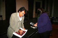 "Days of Our Lives and Mission Impossible star Thaao Penghlis ""Tony DiMera"" signs Days calendar after he presents Journeys on May 24, 2010 at the Cape May Stage, Cape May, New Jersey. It is a show telling about his traveling the world from Macchu Picchu to the jungles of the Amazon, throughout the Middle East, Greece and Italy. His greatest joy is exploing Egypt and its unsolved mysteries and climbing Mr. Sinai. Became an actor to find journeys - mysteries bringing the unknown to the world - mission possible. In your journeys don't hurry, make it last forever and make it a wise experience. (Photos by Sue Coflin/Max Photos)"