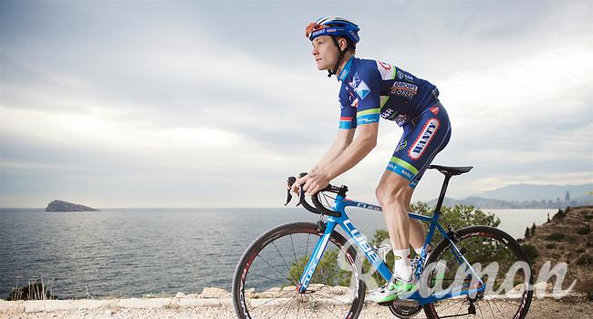 Antoine Demoitié (BEL/Wanty-Groupe Gobert)<br /> <br /> Team Wanty-Groupe Gobert 2016 pre-season training camp<br /> Benidorm, Spain
