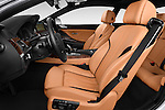 Front seat view of a 2015 BMW 6 Series Experience 2 Door Coupe Front Seat car photos