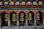 Buddhist prayer wheel, Thimpu, Bhutan. Arindam Mukherjee..