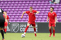 Orlando, Florida - Saturday January 13, 2018: Jordan Jones. Match Day 1 of the 2018 adidas MLS Player Combine was held Orlando City Stadium.
