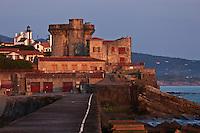 Europe/France/Aquitaine/64/Pyrénées-Atlantiques/Pays-Basque/Ciboure: Fort de Socoa, construit sous Louis XIII et remanié par Vauban.