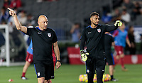 Carson, CA - Sunday January 28, 2018: Matt Reis, Zack Steffen during an international friendly between the men's national teams of the United States (USA) and Bosnia and Herzegovina (BIH) at the StubHub Center.