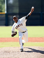 Kelvin Marte / San Francisco Giants 2008 Instructional League..Photo by:  Bill Mitchell/Four Seam Images
