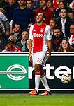 Nederland, Amsterdam, 5 november 2015<br /> Europa League<br /> Seizoen 2015-2016<br /> Ajax-Fenerbahce (0-0)<br /> Jairo Riedewald van Ajax schreeuwt de frustratie uit zijn lijf