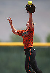 Allison Meyer and the Douglas Tigers battle the Galena Grizzlies in a first round game of the NIAA northern region softball tournament in Reno, Nev., on Thursday, May 15, 2014. Galena won 5-4.<br /> Photo by Cathleen Allison