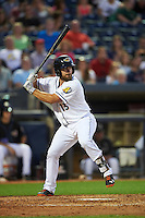Akron RubberDucks pinch hitter Eric Haase (13) at bat during a game against the Richmond Flying Squirrels on July 26, 2016 at Canal Park in Akron, Ohio .  Richmond defeated Akron 10-4.  (Mike Janes/Four Seam Images)