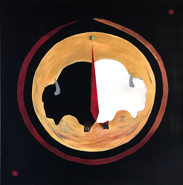 Yin and yang on the good red road