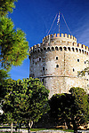 The White Tower is a symbol of Thessaloniki, Greece