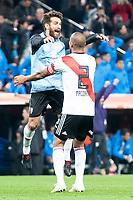 River Plate Leonardo Ponzio and Jonatan Maidana during  Commebol Final Match between River Plate and Boca Juniors at Santiago Bernabeu Stadium in Madrid, Spain. December 09, 2018. (ALTERPHOTOS/Borja B.Hojas) /NortePhoto.com