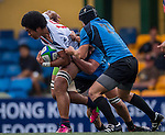 XXX vs XXX during the Day 4 of the IRB Junior World Rugby Trophy 2014 at the Hong Kong Football Club on April 19, 2014 in Hong Kong, China. Photo by Aitor Alcalde / Power Sport Images