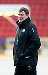 St Johnstone Training…22.12.17<br />Manager Tommy Wright pictured during training this morning at McDiarmid Park.<br />Picture by Graeme Hart.<br />Copyright Perthshire Picture Agency<br />Tel: 01738 623350  Mobile: 07990 594431