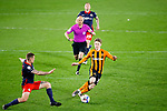 Hull City forward Keane Lewis-Potter goes on a run. Hull 2 Sunderland 2, League One 20th April 2021.