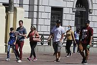 06.04.2020 - Quarentena movimentação de pessoas em SP