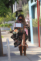 Chrissy Teigen And Her Mom Shopping In Hollywood
