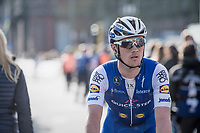 Yves Lampaert (BEL/Quick Step Floors) post-finish<br /> <br /> 79th Gent-Wevelgem 2017 (1.UWT)<br /> 1day race: Deinze › Wevelgem - BEL (249km)