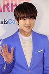 """Yoon-Hak(Choshinsung, Supernova), Apr 09, 2016 : Yoonhak, South Korean boy group Choshinsung (Supernova), attends """"KCON 2016 JAPAN"""" red carpet in Chiba, Japan on April 10, 2016. (Photo by Pasya/AFLO)"""