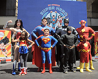 DC Comics and Guiness host largest gathering of Superheroes