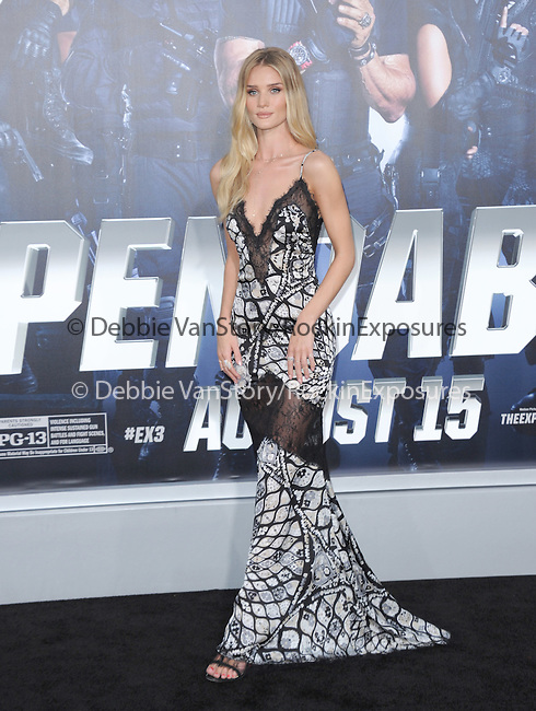 Rosie Huntington-Whiteley<br />  attends The Lionsgate L.A. Premiere of The Expendables 3 held at The TCL Chinese Theatre in Hollywood, California on August 11,2014                                                                               © 2014 Hollywood Press Agency