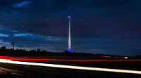 Picture by Mark Bickerdike - 03/12/2013 - Emley Moor mast with light-trails. COPYRIGHT WARNING : THIS IMAGE IS RIGHTS MANAGED AND THE COPYRIGHT MAY SIT WITH A THIRD PARTY PLEASE CONTACT simon@swpix.com BEFORE DOWNLOAD AND OR USE