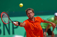 Austria, Kitzbühel, Juli 18, 2015, Tennis,  Davis Cup, second match between Andreas Haider-Maurer (AUT) and Robin Haase (NED), pictured : Robin Haase<br /> Photo: Tennisimages/Henk Koster
