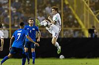 SAN SALVADOR, EL SALVADOR - SEPTEMBER 2: Josh Sargent #9 of the United States passes the ball during a game between El Salvador and USMNT at Estadio Cuscatlán on September 2, 2021 in San Salvador, El Salvador.