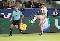 Carson, CA - October 26, 2016: The LA Galaxy  defeat Real Salt Lake 3-1 in a Major League Soccer (MLS) playoff knockout match at StubHub Center.