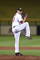 Mesa Solar Sox pitcher Chris O'Grady (53) during an Arizona Fall League game against the Peoria Javelinas on October 16, 2014 at Cubs Park in Mesa, Arizona.  Mesa defeated Peoria 6-2.  (Mike Janes/Four Seam Images)