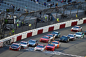 #20: Christopher Bell, Joe Gibbs Racing, Toyota Supra Ruud and #1: Michael Annett, JR Motorsports, Chevrolet Camaro Chevrolet Pilot Flying J