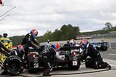 2017 Verizon IndyCar Series<br /> Honda Indy Grand Prix of Alabama<br /> Barber Motorsports Park, Birmingham, AL USA<br /> Sunday 23 April 2017<br /> Graham Rahal, Rahal Letterman Lanigan Racing Honda, pit stop<br /> World Copyright: Michael L. Levitt<br /> LAT Images<br /> ref: Digital Image levitt-0417-bmp_07656