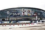 Cowboys Stadium during Super Bowl Weekend- ICE