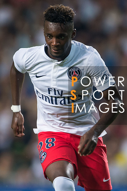 Bahebeck of Paris Saint-Germain in action during Kitchee SC vs Paris Saint-Germain during the The Meeting of Champions on July 29, 2014 at the Hong Kong stadium in Hong Kong, China.  Photo by Aitor Alcalde / Power Sport Images