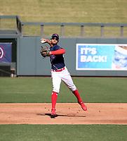 Jonathan Mejia participates in the MLB International Showcase at Salt River Fields on November 12-14, 2019 in Scottsdale, Arizona (Bill Mitchell)