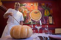 Europe/France/Aquitaine/33/Gironde/Bordeaux: Nicolas Magie chef du  restaurant: La Cape à Cenon