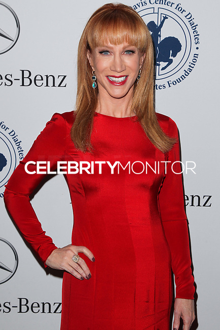 BEVERLY HILLS, CA, USA - OCTOBER 11: Kathy Griffin arrives at the 2014 Carousel Of Hope Ball held at the Beverly Hilton Hotel on October 11, 2014 in Beverly Hills, California, United States. (Photo by Celebrity Monitor)
