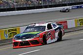 #20: Christopher Bell, Joe Gibbs Racing, Toyota Supra Rheem / RTP pits for fuel