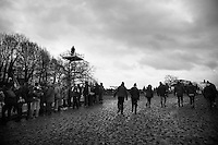 meanwhile alongside the course<br /> <br /> 2014 UCI cyclo-cross World Championships, Elite Women