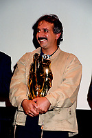 Montreal (Qc) CANADA -september 2, 1997 File Photo-<br /> Iranian film maker Majid Majidi win two awards <br /> <br /> <br /> at 1997 World Film Festival.<br /> -Photo (c) Pierre Roussel - Images Distribution